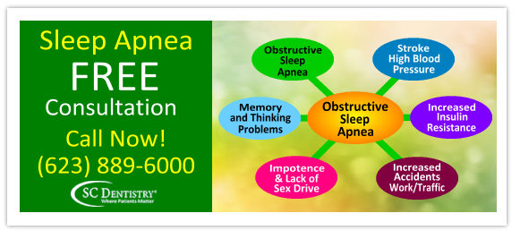 sleep apnea dentistry in arizona | www.SCDentalGroup.com
